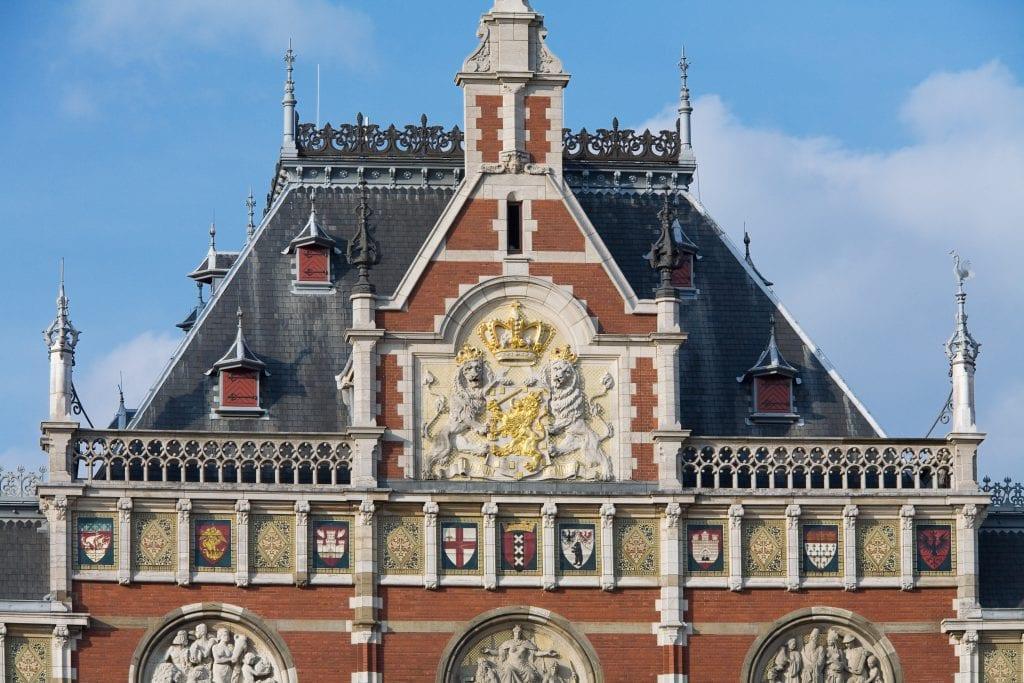 Fachada Centraal Amsterdam