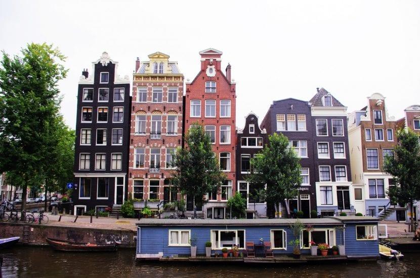 Casas flotantes de msterdam for Casa amsterdam