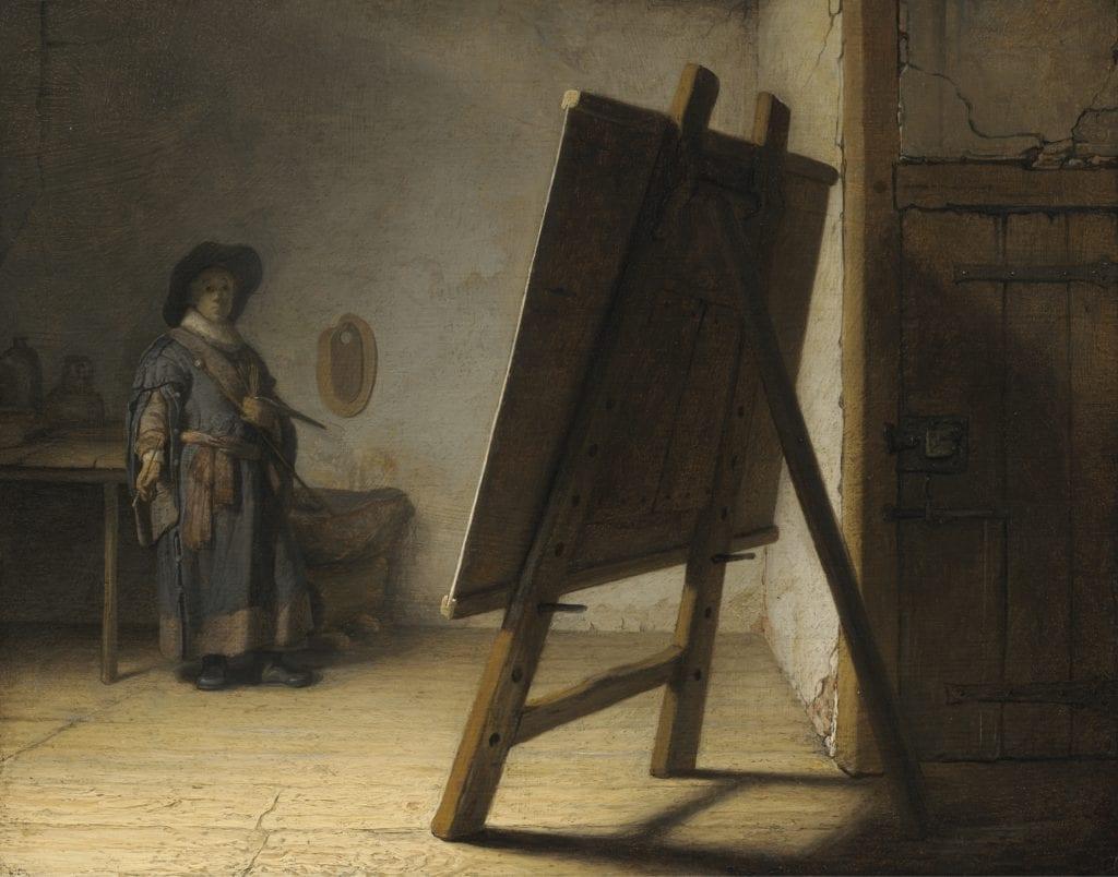 El artista en su estudio Rembrandt