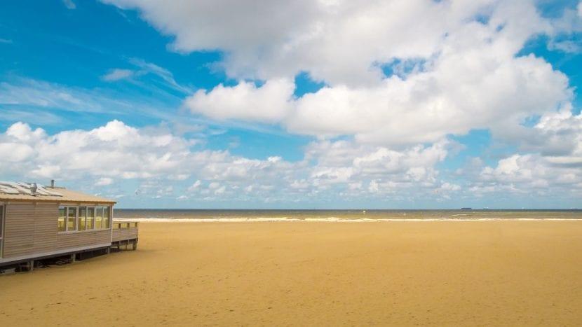 Playa de Scheveningen en La Haya