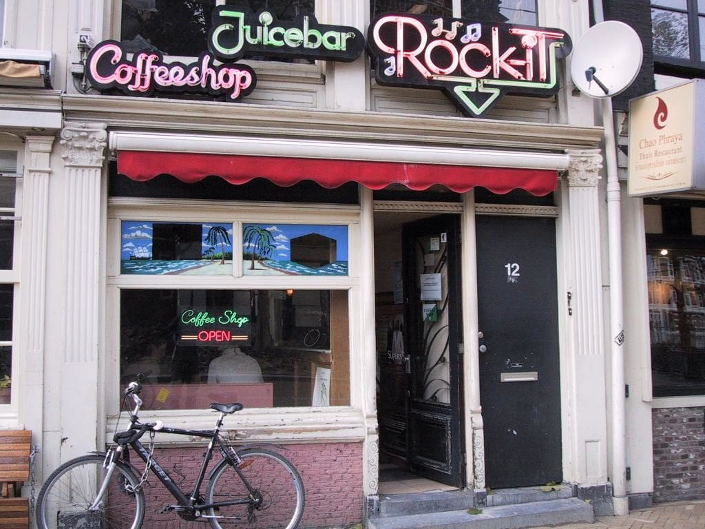 Coffee shops en Amsterdam