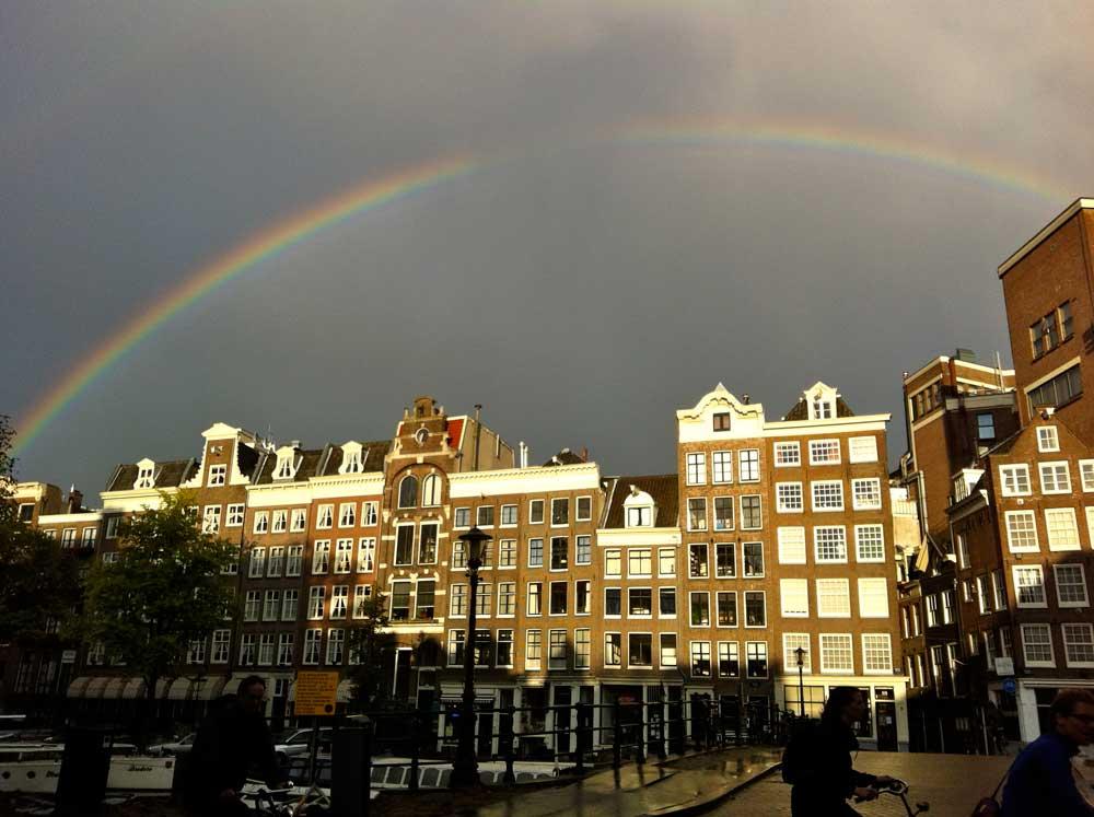 El tiempo en Ámsterdam
