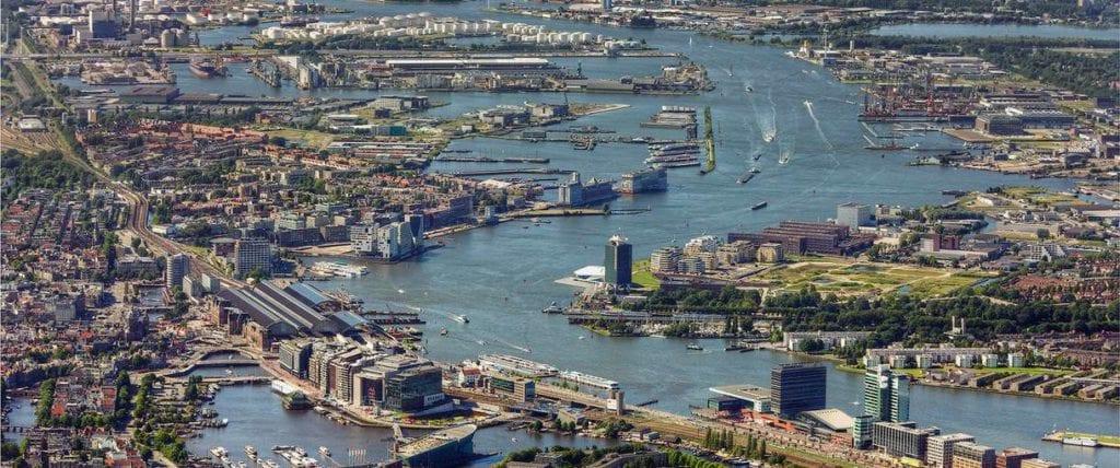 Viajar a Ámsterdam en barco