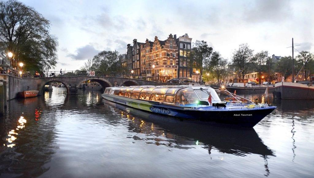 crucero de Ámsterdam