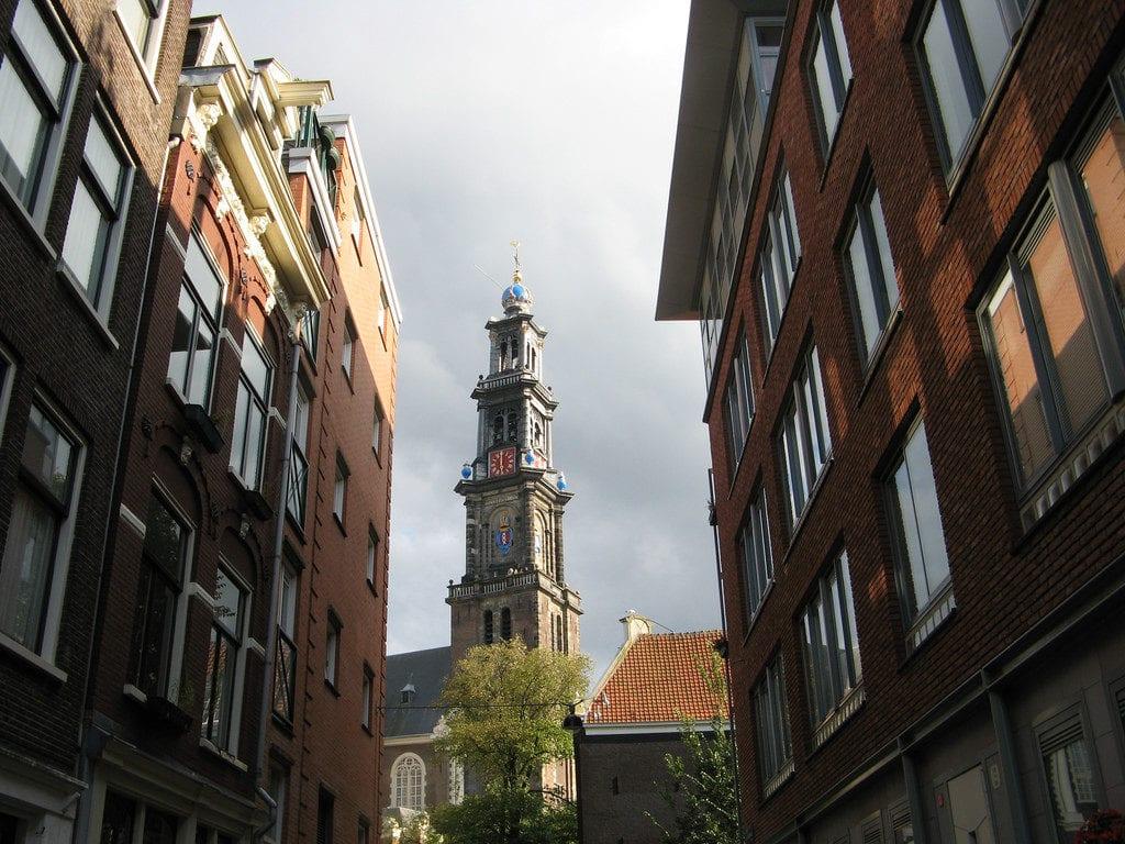 la torre Westerkerk