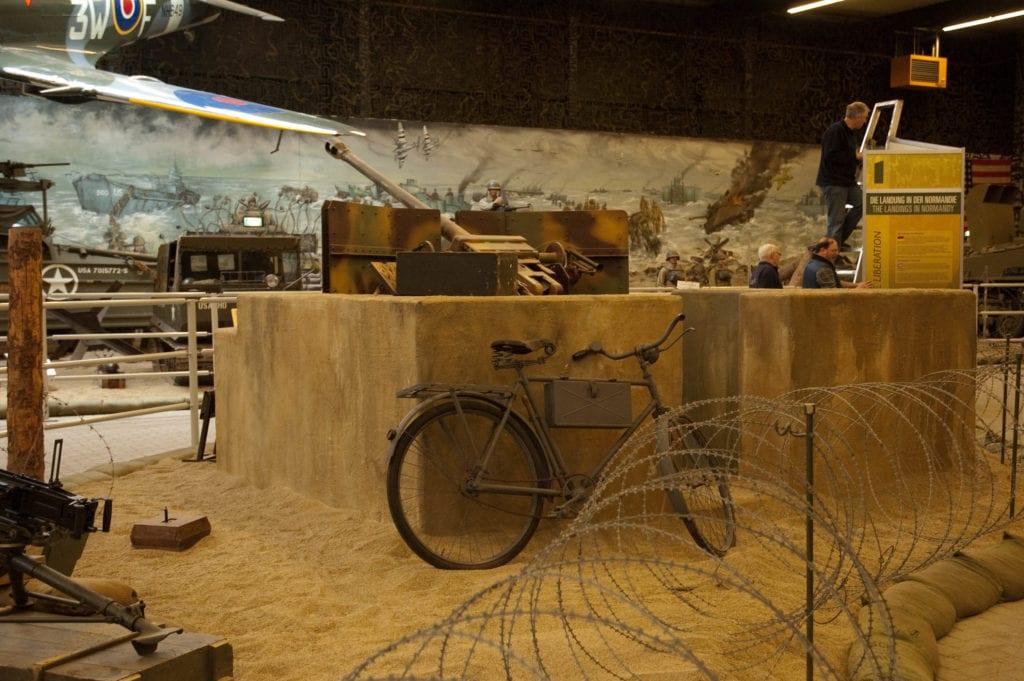Interior del Museo de la Resistencia