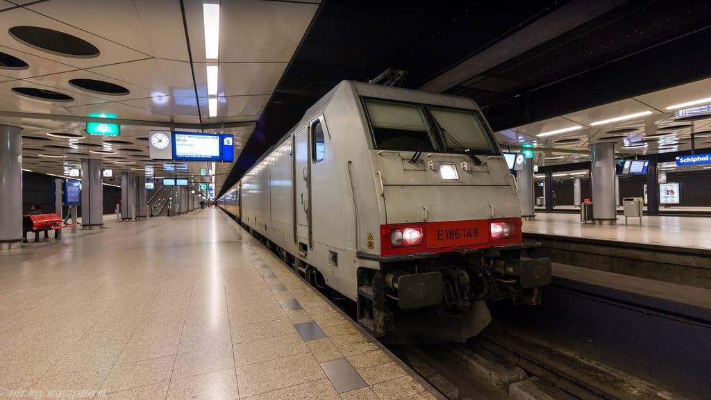 viajar a Ámsterdam en tren