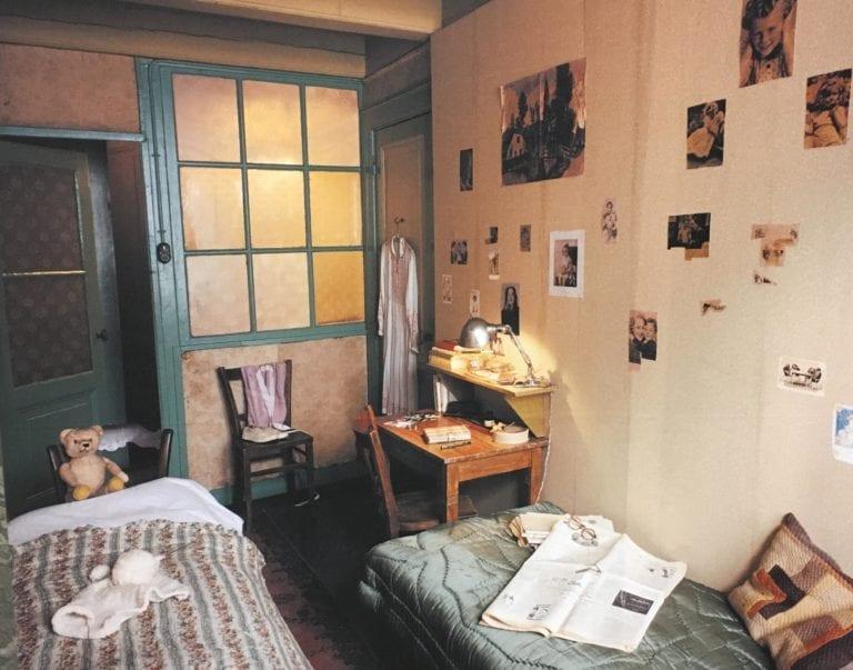 Interior casa de Ana Frank