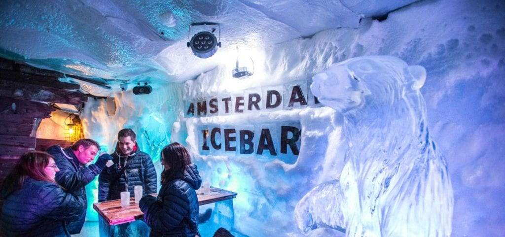 Icebar de Ámsterdam