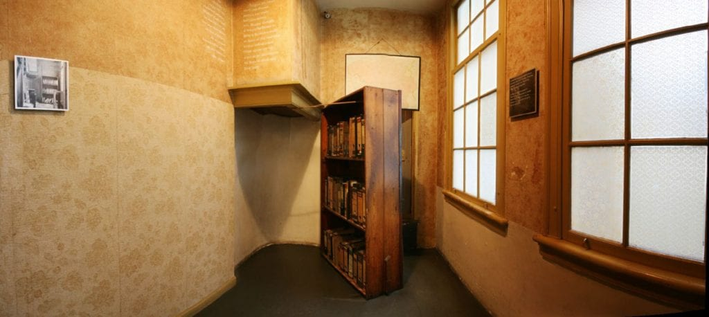 puerta Ana Frank