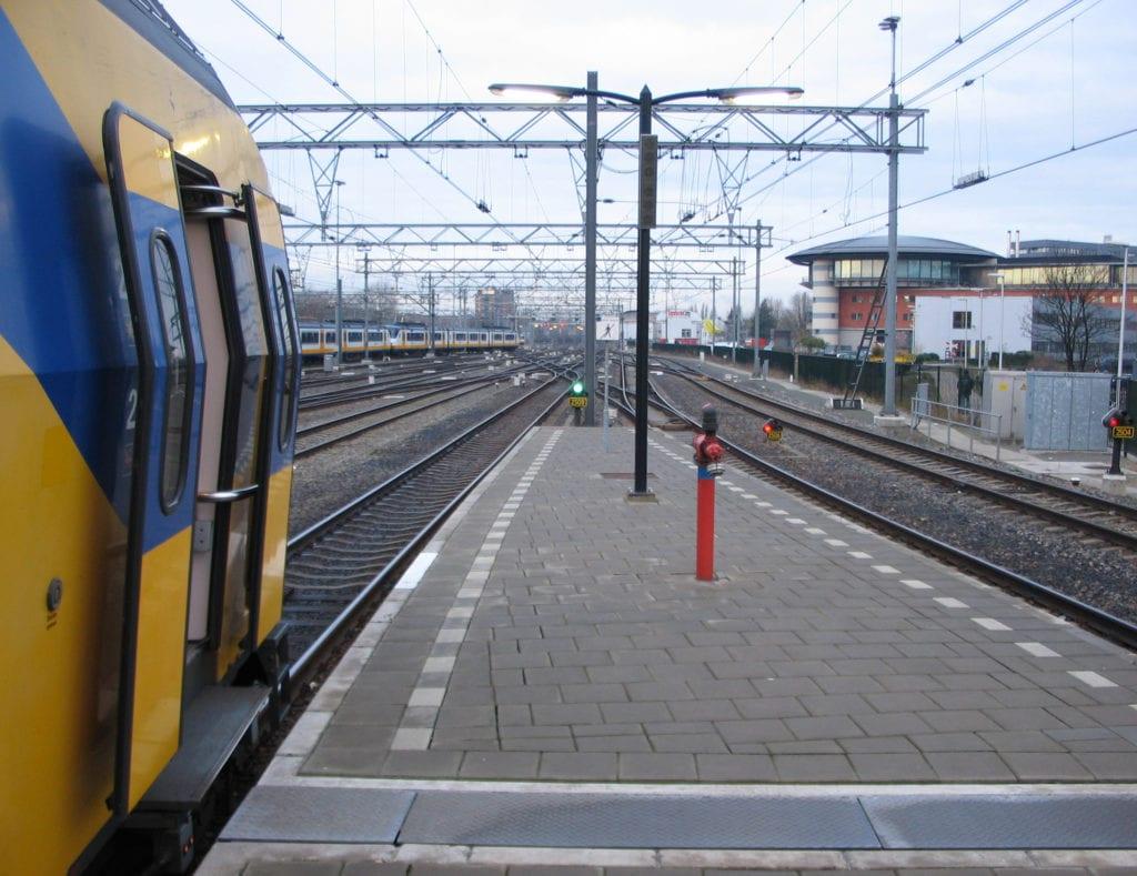 Viajar en tren a Ámsterdam